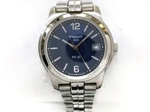 TISSOT(ティソ) 腕時計美品  J336/436K レディース ネイビー