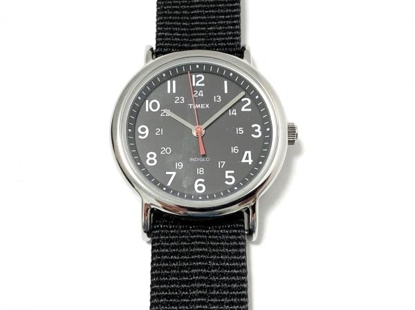 TIMEX(タイメックス) 腕時計美品  - メンズ INDIGLO 黒