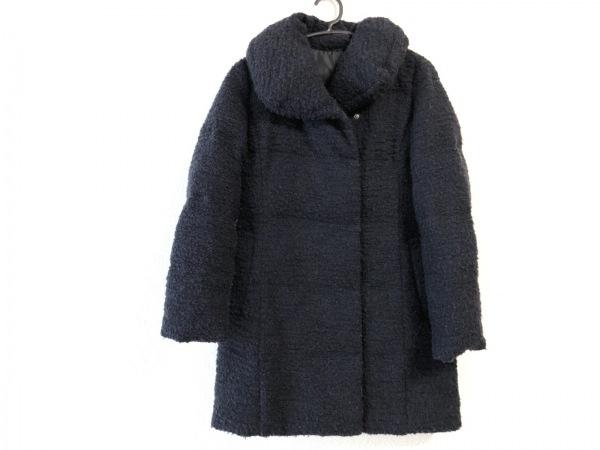 ANAYI(アナイ) ダウンコート サイズ36 S レディース ネイビー 冬物