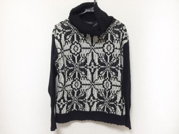 マックスマーラウィークエンド 長袖セーター サイズXL レディース美品  黒×白