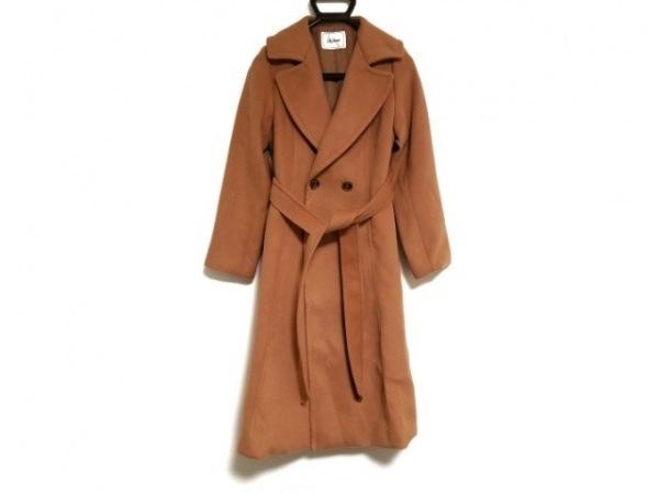 Lily Brown(リリーブラウン) コート サイズF レディース美品  ブラウン 冬物/ロング丈