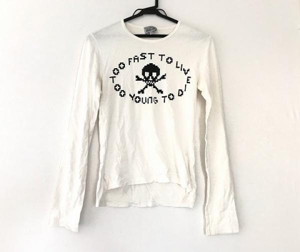 ヴィヴィアンウエストウッドマン 長袖Tシャツ サイズ44 L メンズ 白×黒