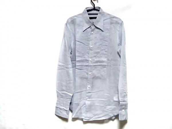 DSQUARED2(ディースクエアード) 長袖シャツ サイズ50 M メンズ ライトグレー プリーツ