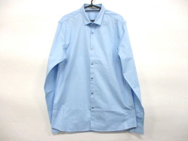 Dior HOMME(ディオールオム) 長袖シャツ サイズXXL XL メンズ ライトブルー