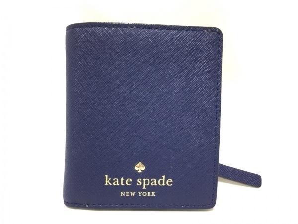 ケイトスペード 2つ折り財布美品  シダーストリート スモールステイシー PWRU3906