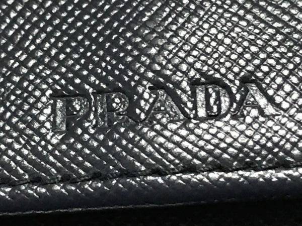 PRADA(プラダ) キーケース - ネイビー 6連フック レザー