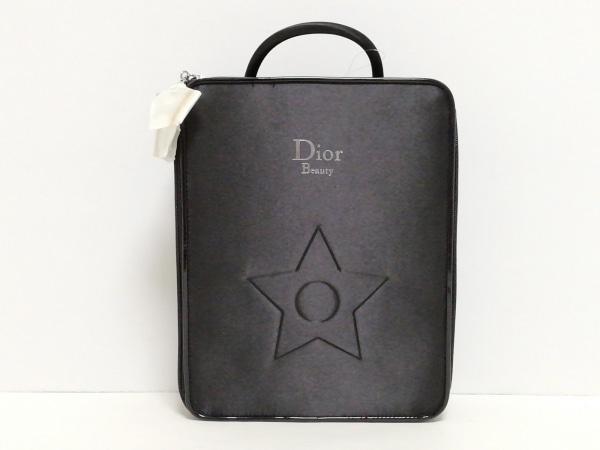 Dior Beauty(ディオールビューティー) バニティバッグ 黒 スター ナイロン