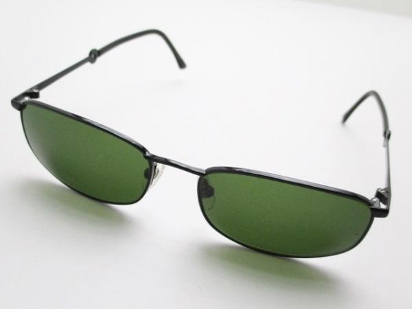 JEANCOLONNA(ジャンコロナ) サングラス - ダークグリーン×黒 プラスチック×金属素材