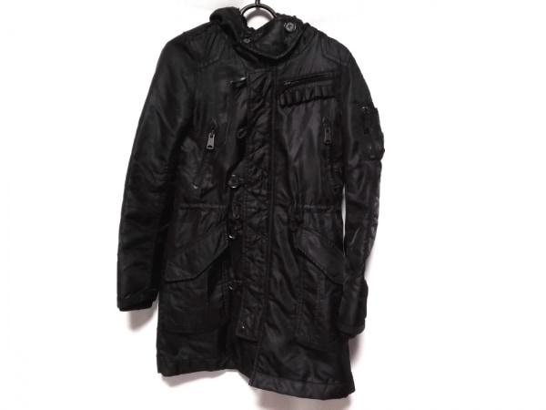 moussy(マウジー) コート サイズ1 S レディース 黒 冬物/中綿入り