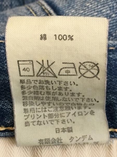 Caqu(サキュウ) ジーンズ サイズ0 XS レディース ネイビー ダメージ加工