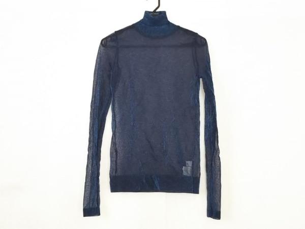 LE CIEL BLEU(ルシェルブルー) 長袖カットソー サイズ36 S レディース美品  ネイビー