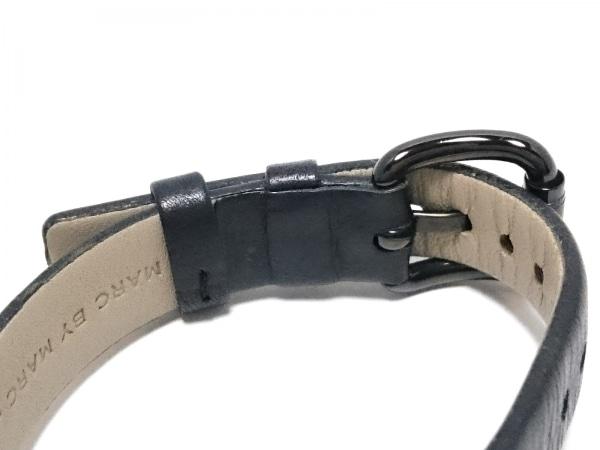 マークジェイコブス 腕時計美品  MBM2053 レディース 革ベルト/犬/ラインストーン