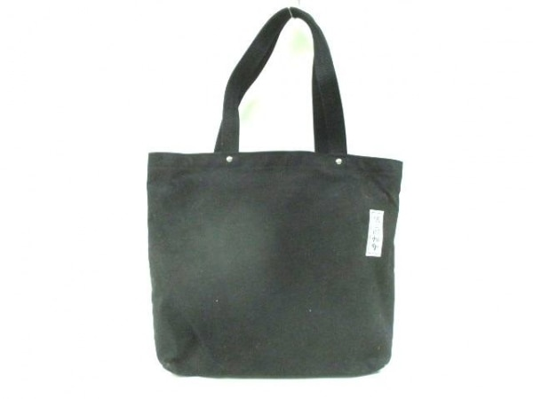 一澤信三郎帆布(イチザワシンザブロウハンプ) トートバッグ 黒 キャンバス