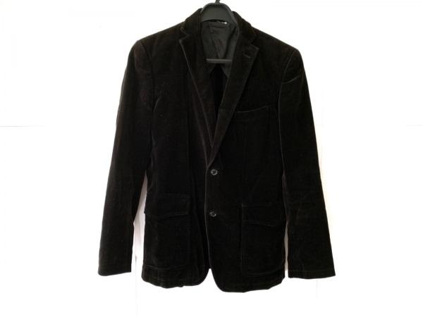 ABAHOUSE(アバハウス) ジャケット サイズ2 M メンズ 黒 ベロア