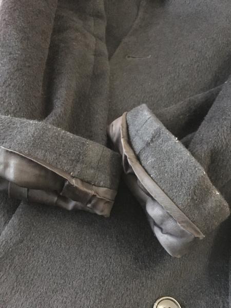 CK39(カルバンクライン) コート サイズ6 M レディース 黒 冬物