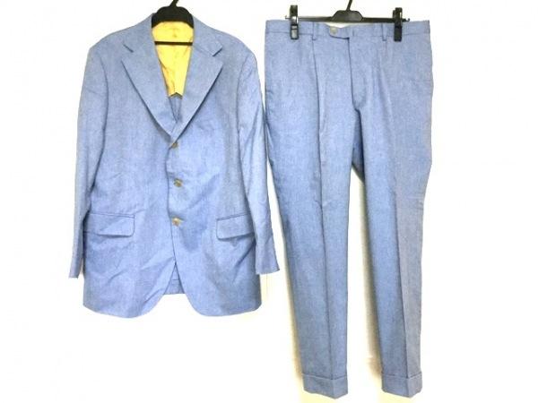Zegna(ゼニア) シングルスーツ メンズ ライトブルー 肩パッド