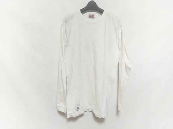 CHUMS(チャムス) 長袖カットソー サイズXL メンズ美品  白