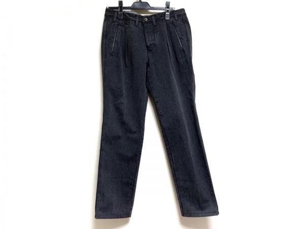 BOGLIOLI(ボリオリ) パンツ サイズ50 M メンズ ダークグレー CALF/2タック