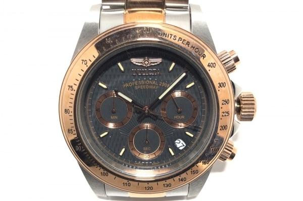 INVICTA(インヴィクタ) 腕時計 6932 メンズ クロノグラフ 黒
