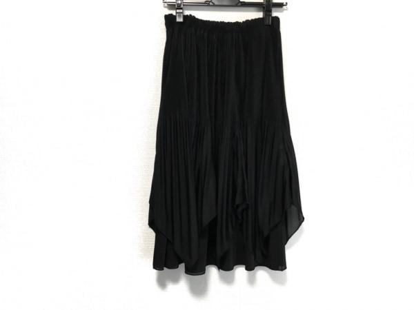 TO BE CHIC(トゥービーシック) ロングスカート サイズ40 M レディース美品  黒