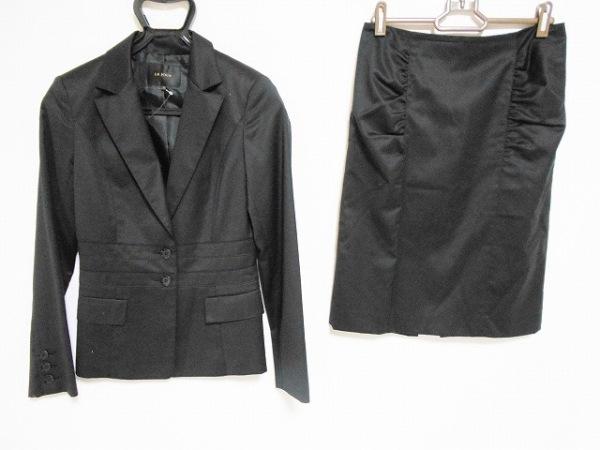 LEJOUR(ルジュール) スカートスーツ サイズ38 M レディース美品  黒