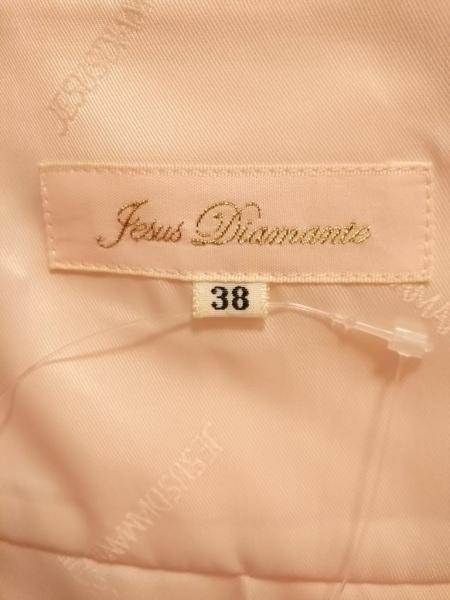 ジーザスディアマンテ スカート サイズ38 M レディース美品  ピンク リボン/レース
