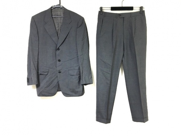 CORNELIANI(コルネリアーニ) シングルスーツ サイズ48 XL メンズ グレー 3点セット