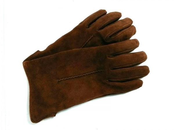 MEROLA(メローラ) 手袋 レディース ブラウン レザー
