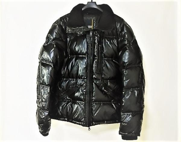 AVIREX(アビレックス) ダウンジャケット サイズL メンズ 黒 VARSITY/冬物