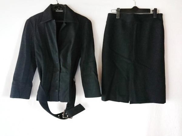 FRAGILE(フラジール) スカートスーツ サイズ36 S レディース 黒