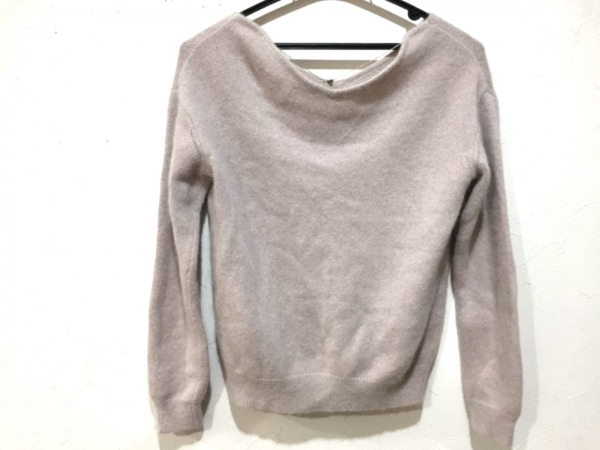 ジャスグリッティー 長袖セーター サイズ2 M レディース新品同様  ベージュ