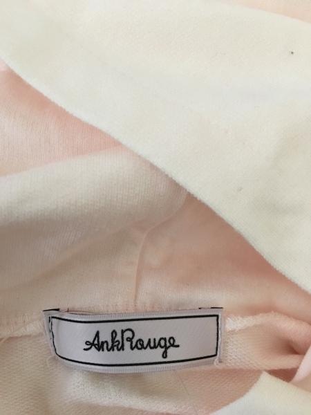 Ank Rouge(アンクルージュ) ワンピース レディース美品  ピンク×ボルドー×黒 クマ