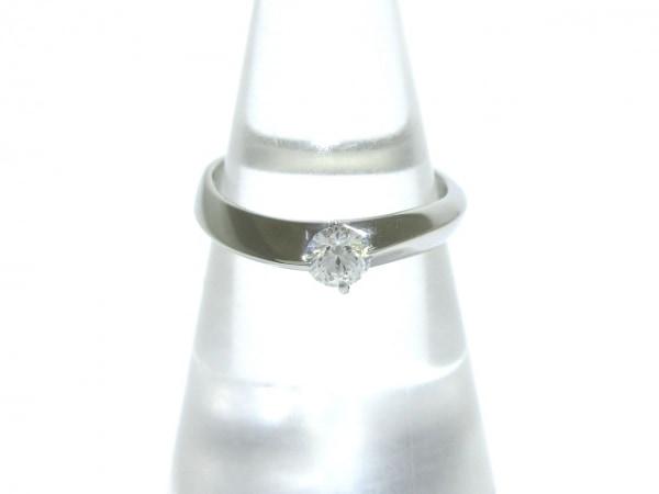 VENDOME(ヴァンドーム青山) リング美品  Pt950×ダイヤモンド 1Pダイヤ/0.259カラット