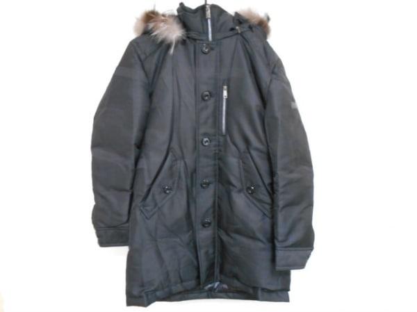 ブラックレーベルクレストブリッジ ダウンコート サイズL メンズ美品  黒 冬物