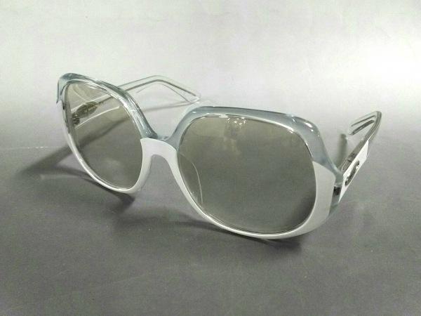 エミリオプッチ サングラス EP609S ライトグレー×白×シルバー プラスチック