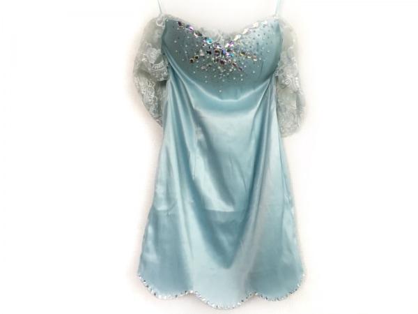 an(アン) ドレス サイズS レディース ライトブルー