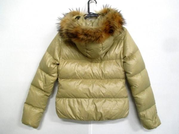 デュベティカ ダウンジャケット サイズ40 M レディース Adhara ベージュ 冬物