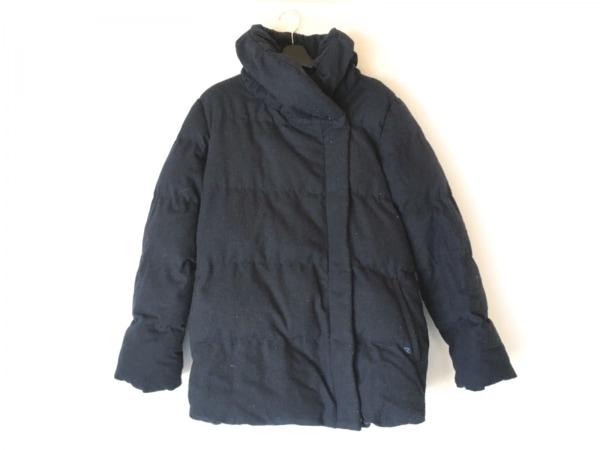 アーノルドパーマー ダウンジャケット サイズ3 L レディース ネイビー 冬物