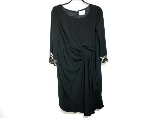 Grace Class(グレースクラス) ドレス サイズ36 S レディース 黒 ビーズ