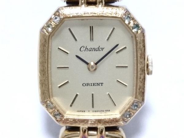 ORIENT(オリエント) 腕時計 I110427-40 レディース 革ベルト ゴールド