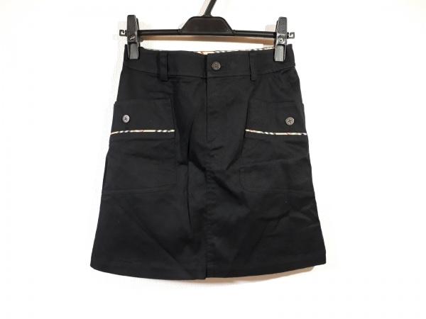 BURBERRYGOLF(バーバリーゴルフ) ミニスカート サイズ7 S レディース美品  黒