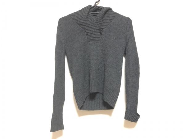 23区(ニジュウサンク) 長袖セーター サイズ38 M レディース ダークグレー