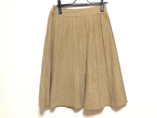 23区(ニジュウサンク) スカート サイズ38 M レディース ライトブラウン
