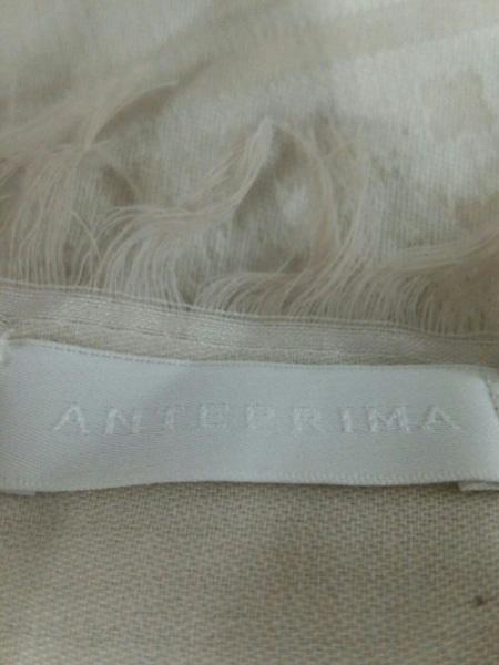 ANTEPRIMA(アンテプリマ) ストール(ショール) 白×ベージュ×マルチ