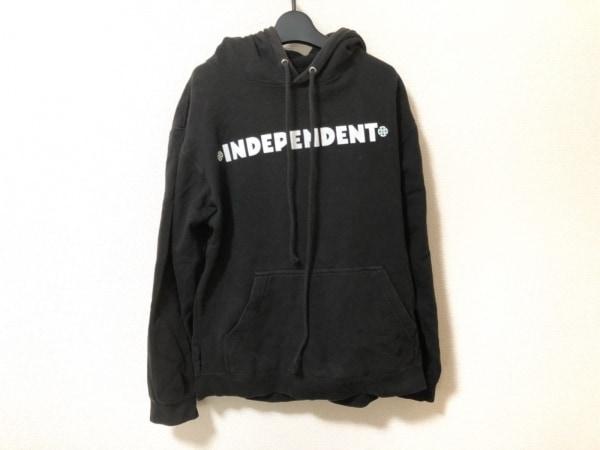 INDEPENDENT(インディペンデント) トレーナー サイズS レディース 黒×白