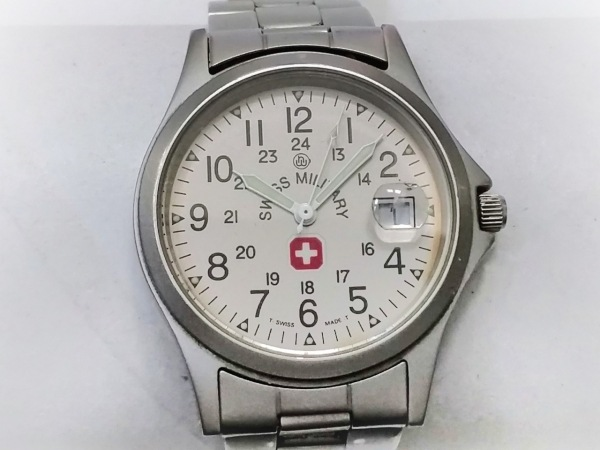 SWISS MILITARY(スイスミリタリー) 腕時計 5304 ボーイズ シルバー