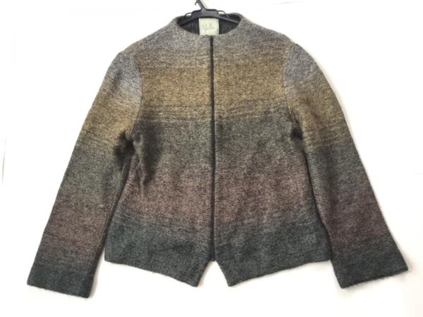 Sybilla(シビラ) ジャケット サイズ40 XL レディース グレー×黒×マルチ