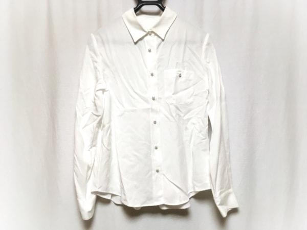 ROPE(ロペ) 長袖シャツブラウス サイズ38 M レディース美品  白