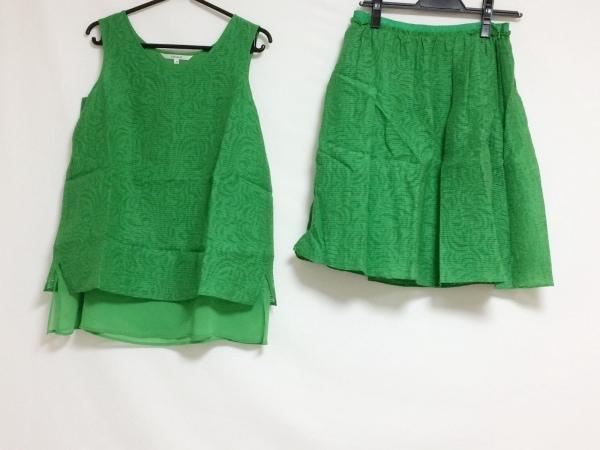 LOUNIE(ルーニィ) スカートセットアップ サイズ38 M レディース グリーン