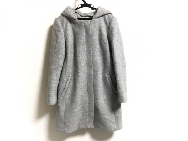 KHAJU(カージュ) コート サイズ36 S レディース グレー 冬物